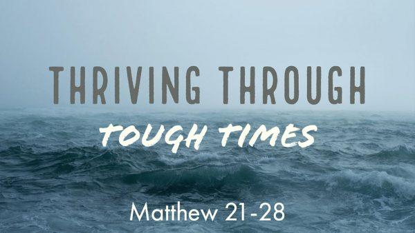 Thriving Through Tough Times