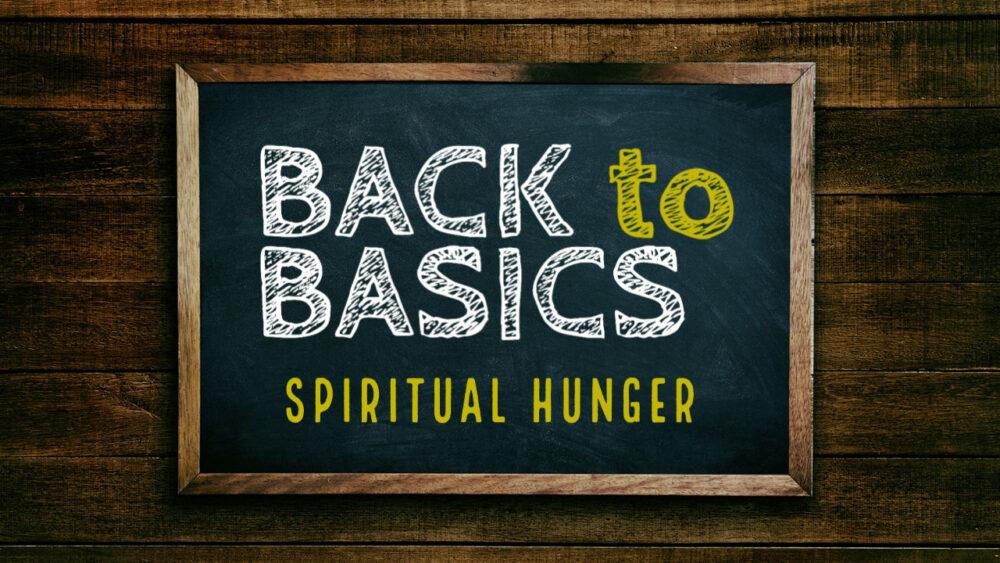 Spiritual Hunger Image