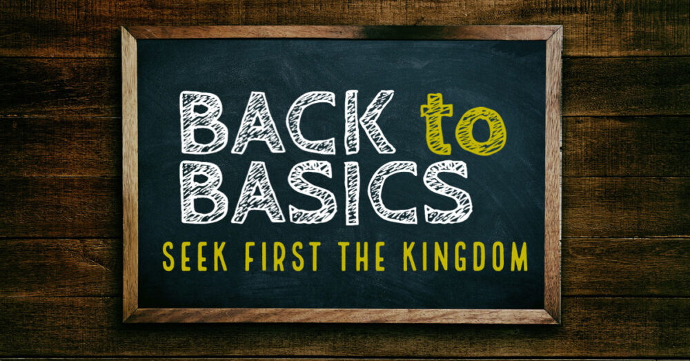 Seek First The Kingdom Image
